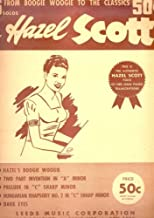 From Boogie Woogie to the Classics : 5 Solos by Hazel Scott