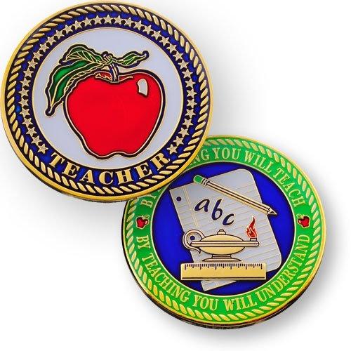 COINSANDPINS Teacher - Geocoin, mehrfarbig, One Size, 11481