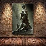 ruyanruomeng Lienzo Pintura Carteles E Impresiones Skyrim The Elder Scrolls Cuadros De Pared para Sala De Estar Decoración del Hogar Tableau Sin Marco B1212(40X50Cm)