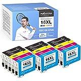 myCartridge SUPRINT 15 cartuchos de tinta compatibles con Epson 16 16xl para Epson Workforce WF-2750 WF-2760 WF-2660 WF-2650 WF-2630 WF-2540 WF-2530 WF-2010 WF-2510 WF-2520