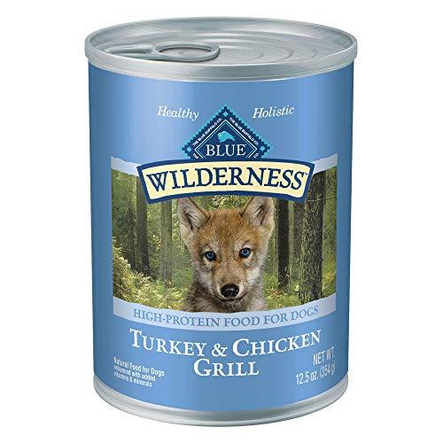 Blue Buffalo Wilderness High Protein Grain Free Natural Puppy Wet Dog Food