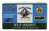 Henry & Lisas, Wild Sardines In Extra Virgin, 4.25 Ounce