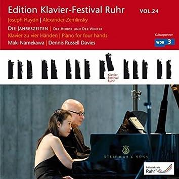 """Haydn: Die Jahreszeiten """"Der Herbst"""" & """"Der Winter"""" (Edition Ruhr Piano Festival, Vol. 24)"""