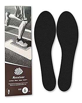 Carbon Fiber Insole 240mm Men s Size 6 / Women s 6.5 Carbon Fiber Shoe Inserts for Man Woman Basketball Football Hiking Sports Insole Orthotic Shoe Stiffener Insert for Hallux Rigidus Mortons Toe