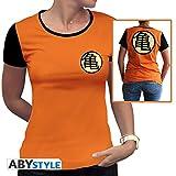 ABYstyle abystyleabytex332_ XS Dragon Ball Z Kame símbolo camiseta...