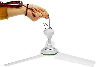 NL 50cm Respetuoso del Medio Ambiente 12V 6W Techo Solar del Ventilador Alimentado por energía Solar Aficionados Electrodomésticos de refrigeración Aire Acondicionado