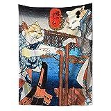 WholesaleSarong Cats by Utagawa Kuniyoshi Tapestry Cloth Poster 40 x 28 inch Decorative Arts