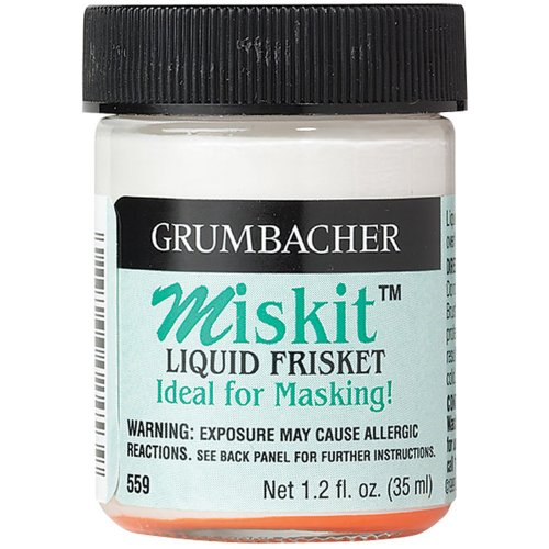 Grumbacher Miskit Liquid Frisket, 35ml/1.2 oz