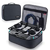 Video Projector Case TYCKA Protective Projector Organizer Bag Shockproof Projector Carrying Case with DIY Dividers 2 Pack Accessories Storage Pockets for Projector Device (12,2 x 9,5 x 3,5 inch)