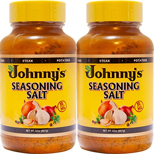 Johnny's Seasoning Salt, 32 oz, Pack of 2