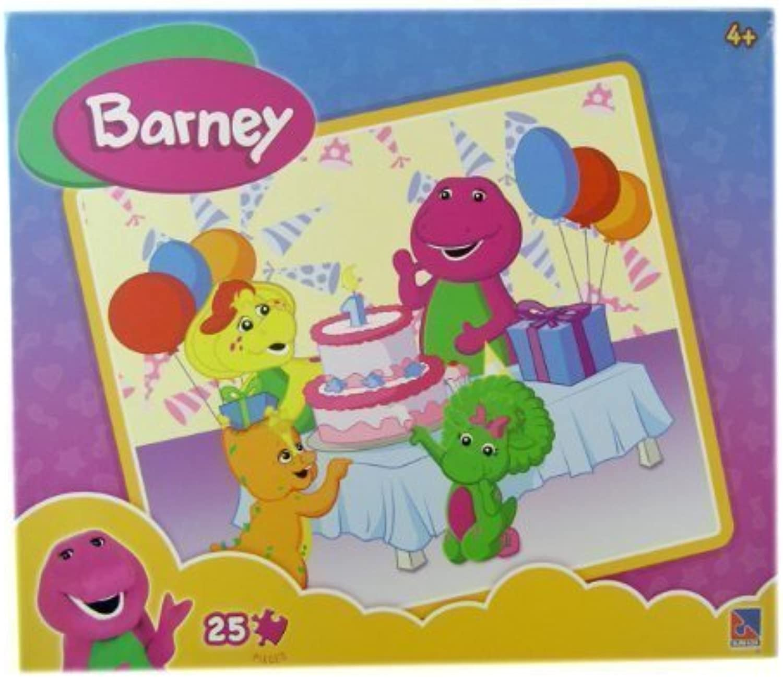 Barney Puzzle  Barney 1st Birthday Puzzle by surelox