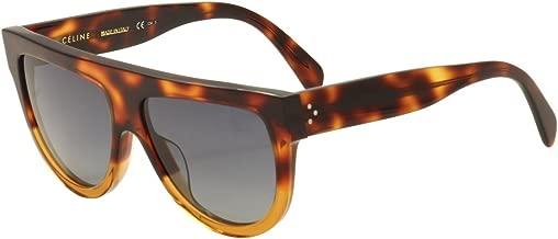 Celine CL41026/S 233 Havana/Brown Shadow Round Sunglasses Lens Category 3 Siz