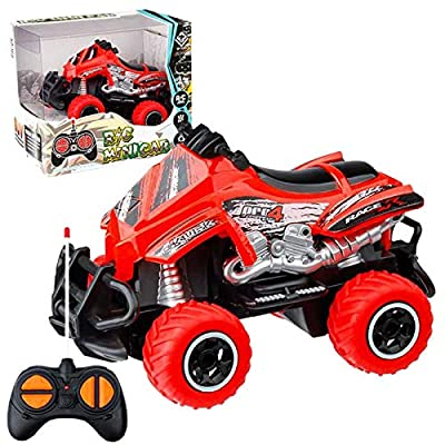 Amazon - 70% Off on Mini Simulation Off-Road Motorcycle 1:43 Electric Remote Control