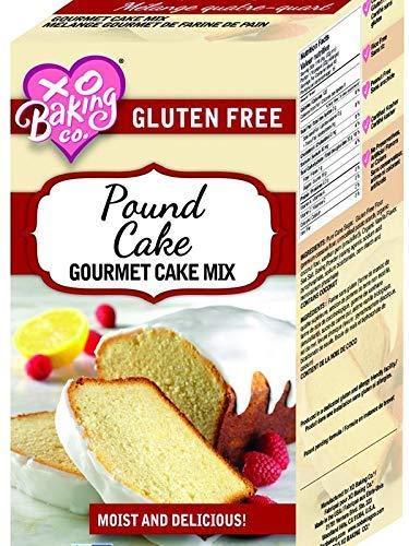 XO Baking Gluten Free Pound Cake Mix – Flavorful Non GMO Certified Cake Mix 18 Ounces