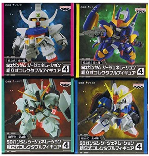 primera vez respuesta SD Gundam G Generation Sectional Collectable Figure 4 4 4 Total set of 4 (japan import)  venta al por mayor barato
