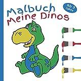 Mein Dino Malbuch ab 3 Jahre: Förderung der Konzentration und der Kreativität (German Edition)