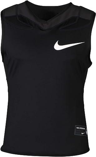 Nike Pour des hommes Vapor Speed Padded Football Shirt noir (petit)