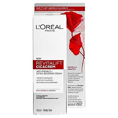 L'Oreal Revitalift Cicacrem Anti Wrinkle Repair Cream, 40ml from Loreal