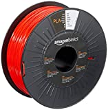 Amazon Basics - Filamento para impresora 3D, ácido poliláctico (PLA), 1.75 mm, cinta de...