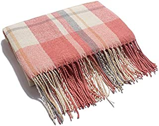 Korean Version Of The New Winter Scarves Cashmere Scarves Increased Thickening Plaid Pattern Scarf Shawl Women Current Scotland