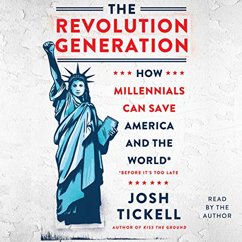 The Revolution Generation audiobook cover art