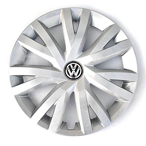 Volkswagen 5G0601147B YTI Radkappe (1 Stück) Radzierblende für 16 Zoll Stahlfelgen