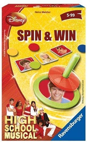 Ravensburger High School 23283 Jeu Musical Spin & Win