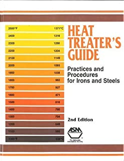 Heat Treater's Guide: Practices and Procedures for Irons and Steels by Harry Chandler (1995-12-01)