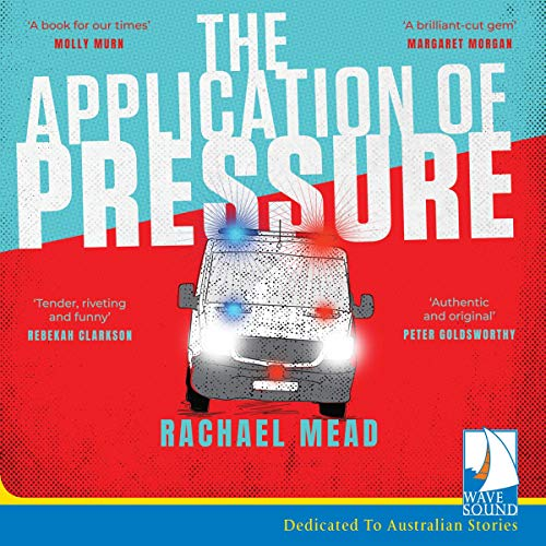 The Application of Pressure audiobook cover art