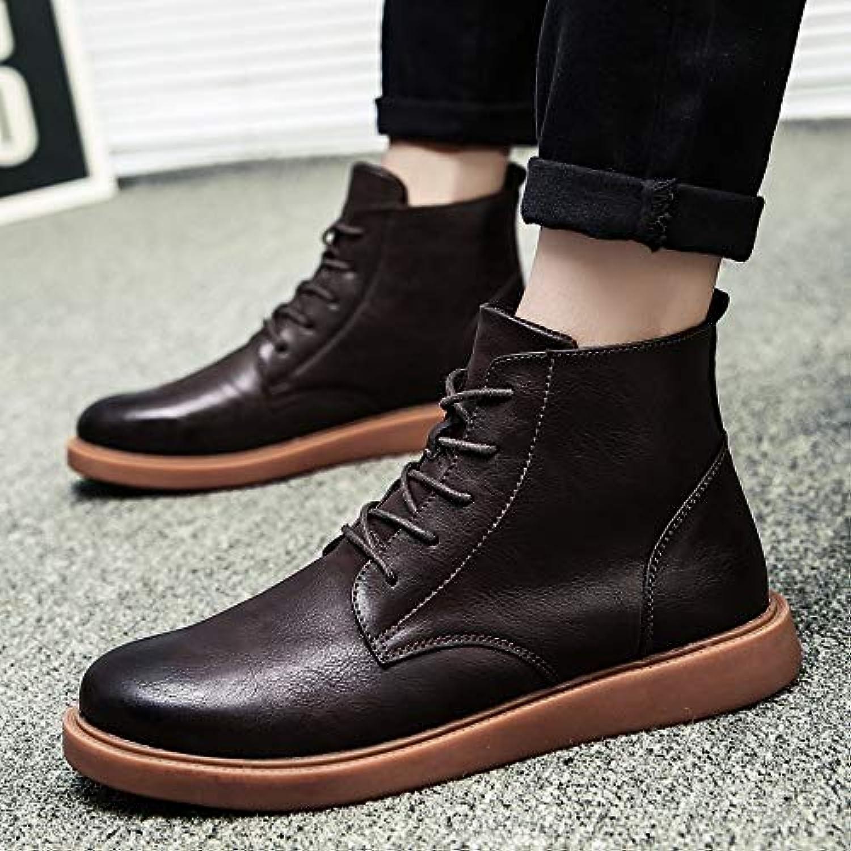 Shukun Men's boots Fashion Boots, Martin Boots, Fashion, Boots, Students, Wild