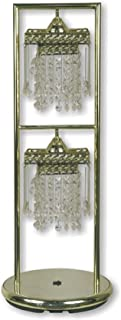 ORE International 713G 30-Inch 2-Light Floor Standing Lamp, Brass