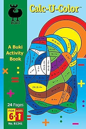 barato en alta calidad Buki Buki Buki Activity Book Calc-U-Color (B1241) by Buki  servicio de primera clase