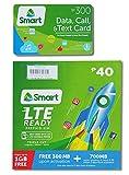 フィリピンSIMカード Smart SIMカード (ロードカード付) フィリピン国内都市部向けSIMカードです