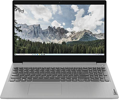 Newest Lenovo IdeaPad 3 15' HD Touchscreen Laptop, Intel 10th Gen Dual-Core i5-1035G1 CPU, 12GB DDR4 RAM, 256GB PCI-e SSD, Webcam, Windows 10 S VGSION McAfee Livesafe 1 Month Trial