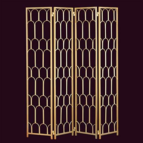 Best Deals! Even Metal Screen,Modern Simple Folding Screen, Decoration Creative Hollow Design