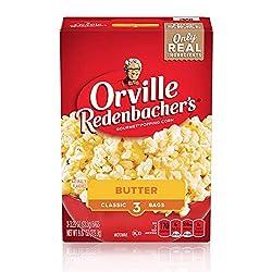 Orville Redenbacher's Butter Popcorn, Classic Bag, 3-Count