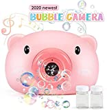 MAMMOTH Bubble Machine Toys for Kids Toddlers Boys Girls, Automatic Bubble Blower with Music LED Flashing Light,Portable Bubble Maker Toy Gift for Children Birthday Party, Wedding, Outdoor Indoor Games