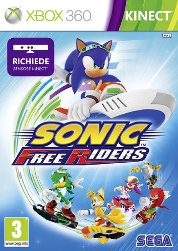 Sonic Free Riders - Kinect Compatible (Xbox 360) [Edizione: Regno Unito]