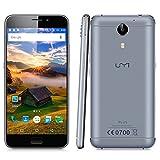 UMI Plus - 4G Smartphone Libre Android 6.0 Multitáctil (Pantalla LTPS 5.5', 1.8GHz MT6755M...