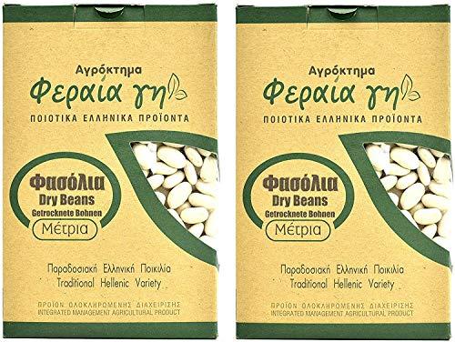 Griechische weiße Bohnen von Terra Ferea | Neue Ernte einer traditionellen griechischen Sorte (1000)