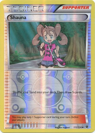 Pokemon - Shauna (111/124) - XY Fates Collide - Reverse Holo