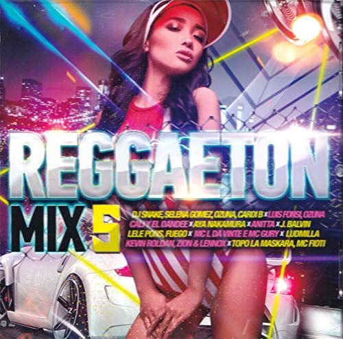 Reggaeton Mix 5 [CD] 2019