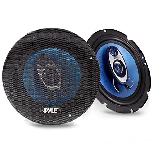 Pyle PLG6.4 6.5-Inch 300 Watt Four-Way Speakers