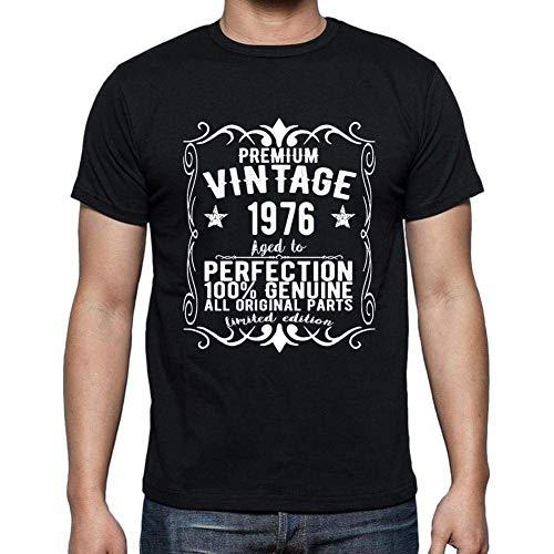Premium Vintage Year 1976 Cumpleaños de 45 años, Regalo cumpleaños Hombre, Camisetas Hombre cumpleaños, Vendimia Prima Camiseta Hombre, Camiseta Regalo, Regalo Hombre