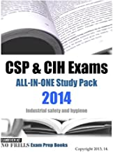 CSP & CIH Exams ALL-IN-ONE Study Pack 2014: Industrial safety and hygiene