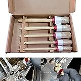SANON Cepillo de Detalle de Primera Calidad Kit de Cepillos de Limpieza de Detalles del Automóvil para Ruedas de Molduras Automáticas de Puertas de Ventilación. (5 Unids/Lote)