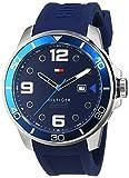 Tommy Hilfiger 1791156 - Reloj para Hombre, Cuarzo, analógico, Correa de Silicona, Color Azul