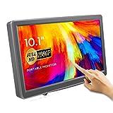 Touch Screen Monitor, ELECROW 1920×1080p Portable Monitor 10.1-Inch IPS HDMI Raspberry Pi Screen