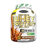 MuscleTech Premium 100% Whey Protein Isolate, Deluxe Chocolate (3 pounds)