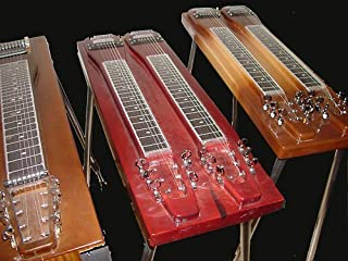 Lap & Console Steel Guitar - Design & Construction v3.0 by R. J. Gluck (2013-05-01)